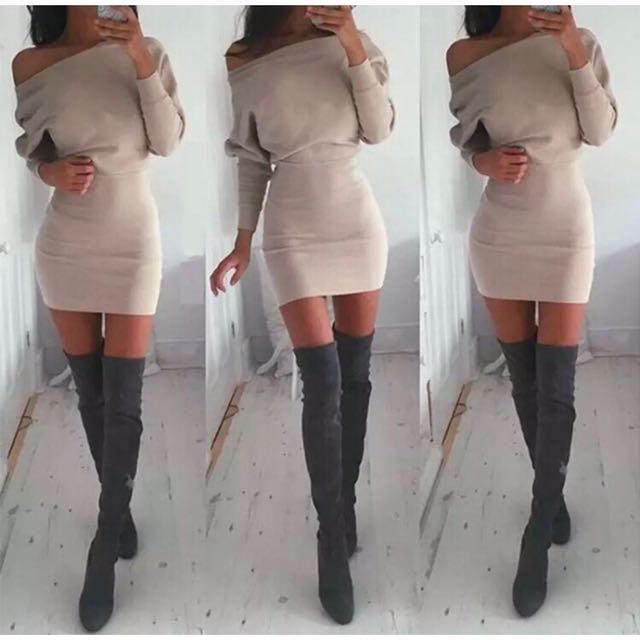 Pre-Order Jumper Sweater Dress
