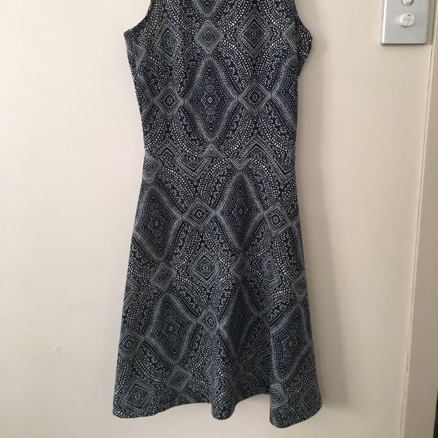 Printed Dress Sz XS