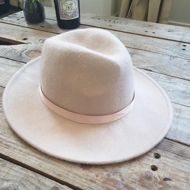 River Island One Size Hat Light Pink