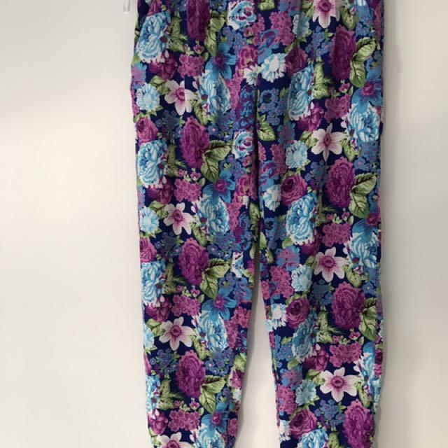 Sabo Skirt Floral Pants