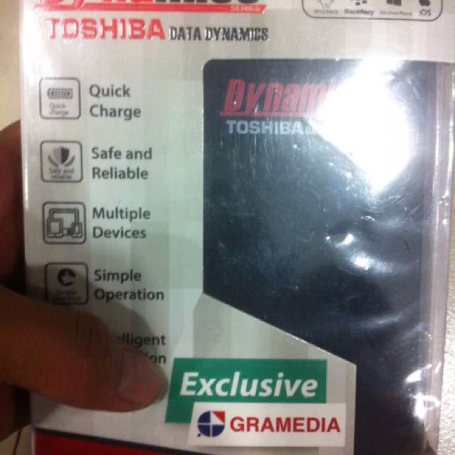 SALE!!Powerbank Toshiba