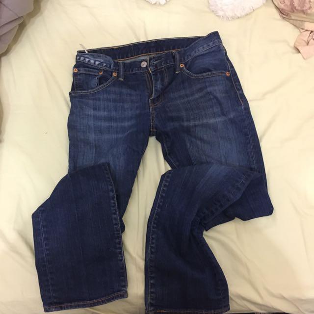 Size 28 Levi's Jeans Blue