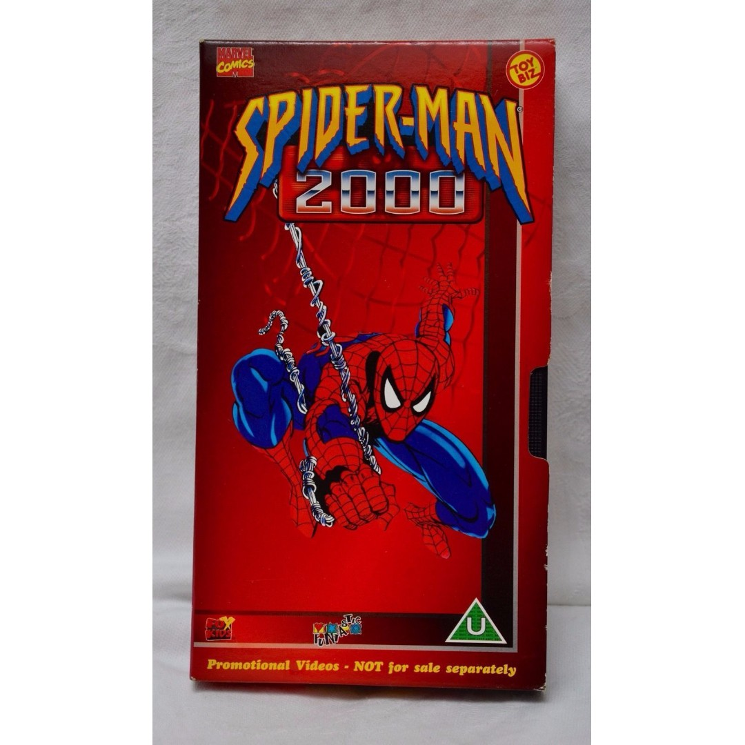 Spider-Man 2000 Doctor Octopus Armed and Dangerous VHS Tape