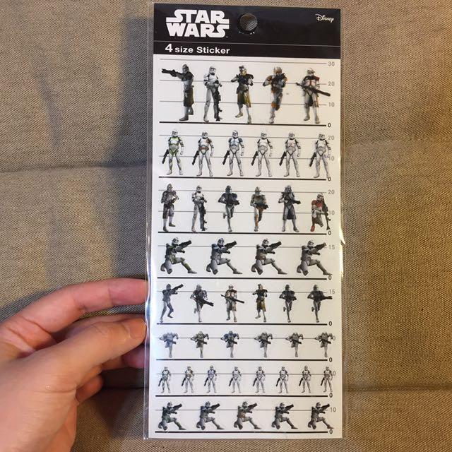 Star Wars 貼紙
