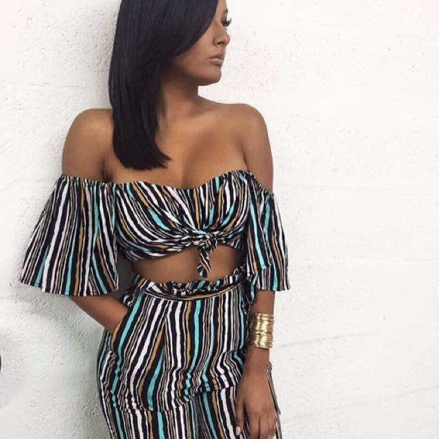 Striped Set
