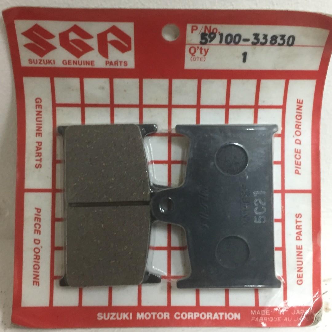 Suzuki Original Brake Pad (part no 59100-33830) For GSXR750WP (1988-1992) &  GSXR1100WP (1989-1992)