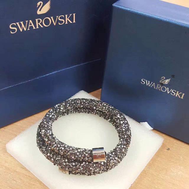 SWAROVSKI BRACELET Crystaldust Double Bangle