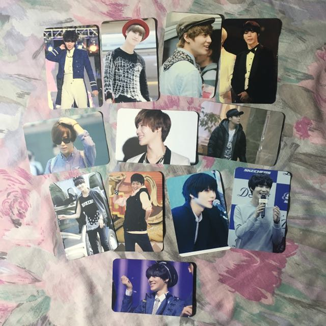 Taemin Fansite Photocards
