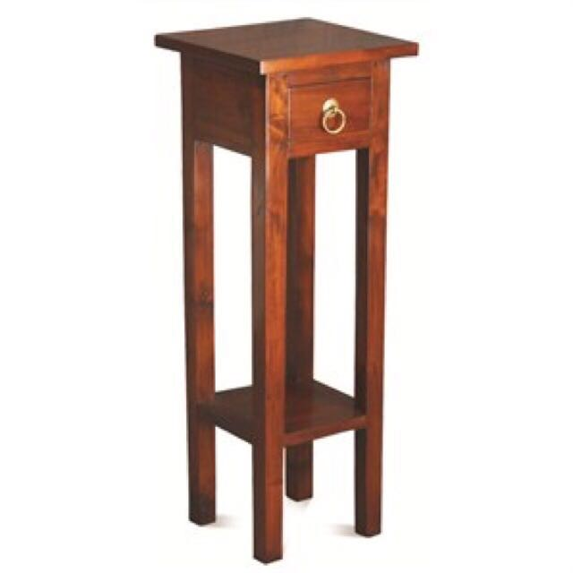 ... Teak Side Table / Lamp Table / Phone Table Singapore Low Price  Warehouse ...