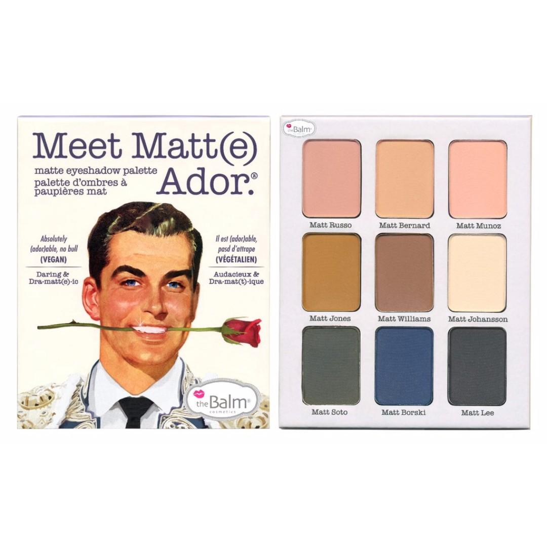 The Balm Cosmetics Meet Matt(e) Ador palette
