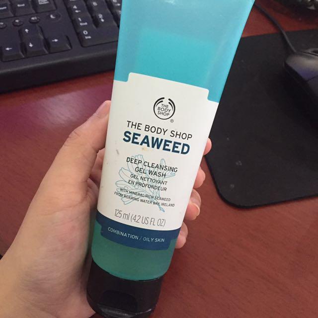 The Body Shop Seaweed Deep Cleansing Gel Wash
