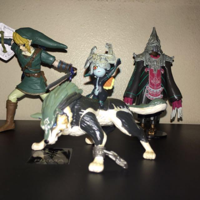 The Legend of Zelda Twilight Princess Figures