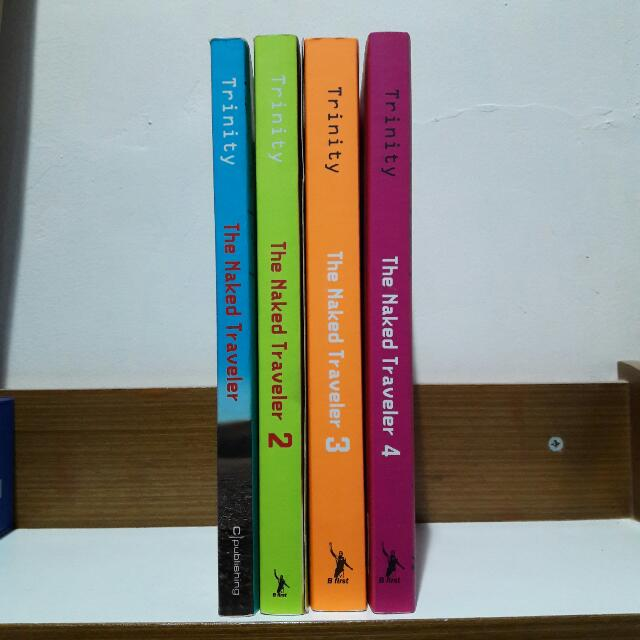 The Naked Traveler 1-4 Bundle (Cover lama) by. Trinity