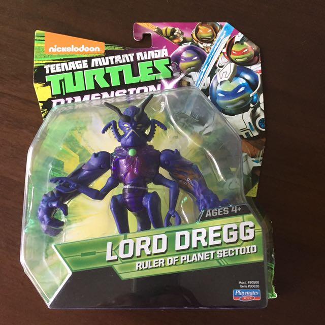 TMNT ninja turtles LOrd Dregg, Babies & Kids, Toys & Walkers