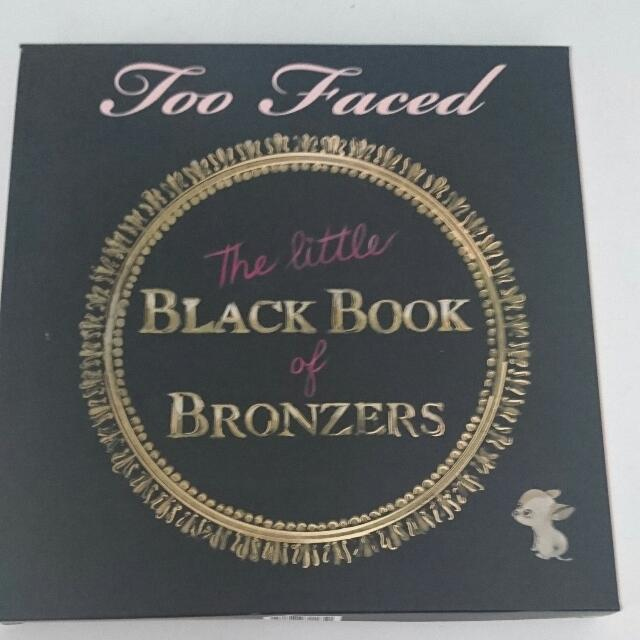 TOO FACED THE LITTLE BLACK BOOK