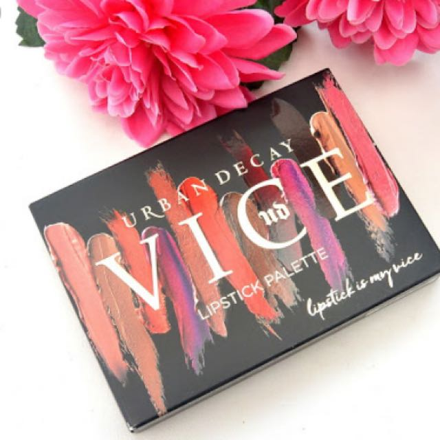 Urban Decay UD Vice Lip Palette