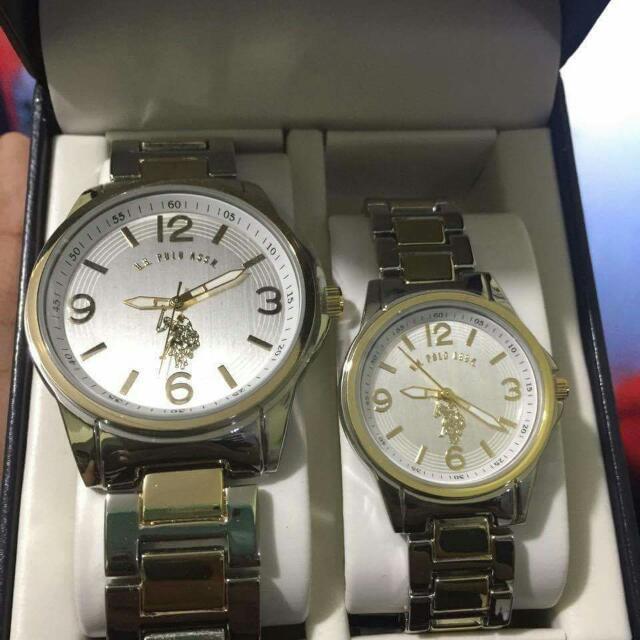 US Polo Assn Couple Watch