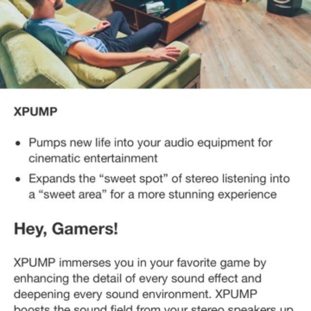 XROUND XPUMP, Electronics, Audio on Carousell
