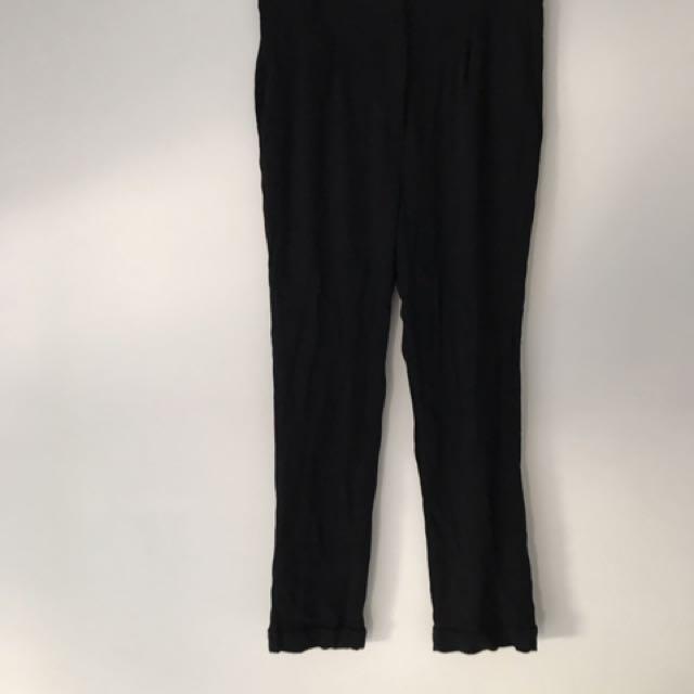 Zara Black Suit Pants