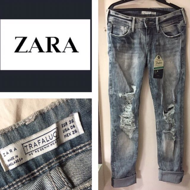 Zara Ripped Pants