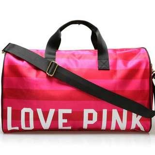 Victoria Secret Love Pink Travel Bag