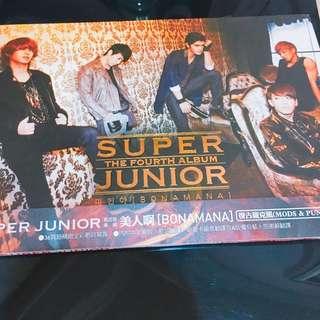 [東海小卡]Super Junior 美人啊Bonamana A版