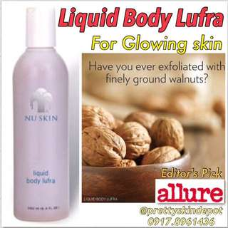 Liquid Body Lufra (Body Scrub)
