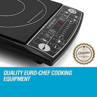 Euro-Chef Electric Induction Cooktop Portable Kitchen Cooker Ceramic Hot Plate
