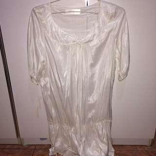 Babydoll Satin Dress