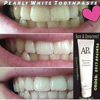 Safe & Effective Whitening Toothpaste