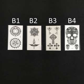 Temporary Tattoo [CLEARING STOCK]
