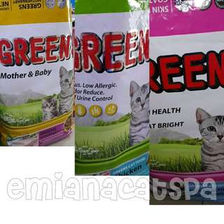 GREENS premium cat food