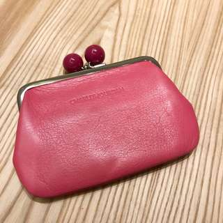 charles jourdan 零錢包/手拿包(粉紅色)