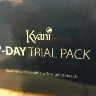 Kyani 7day Trial Pack