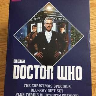Bluetooth Tardis Speaker Doctor Who Blu-ray