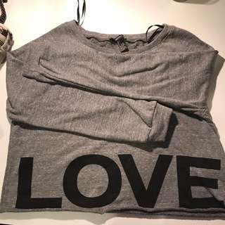 Forever21 Croptop Sweater