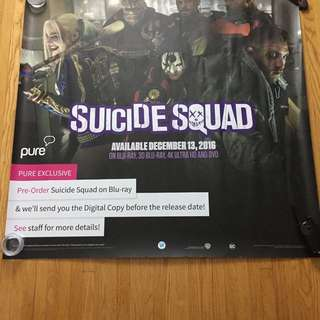 Suicide Squad Large Promo Poster