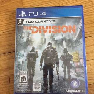 The Division Tom Clancy PS4