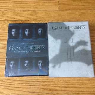 Game Of Thrones DVD Seasons
