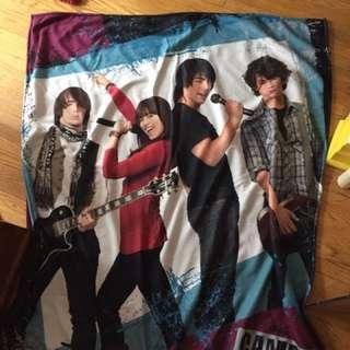 Camp Rock Blanket Jonas Brothers Demi Lovato