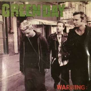 Green Day - Warning  Music CD