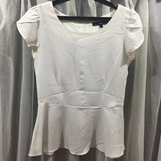 SUPER SALE - Cole White Top