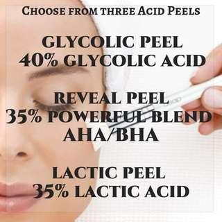Acid PEEL face Treament