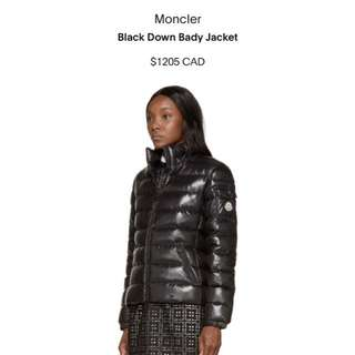 Authentic Monclear Down Jacket