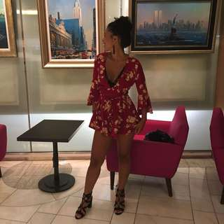 PEPPERMAYO FLORAL PLAYSUIT