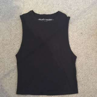 Silent Theory - Black Tank Top