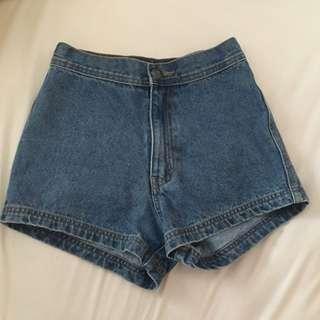 Korean Denim Disco Shorts