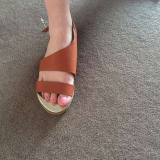 New Brown Sandals