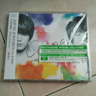 "JYJ (Jejung&Yuchun) ""color Melody And Harmony"" Japan Licence"