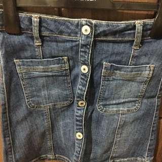 Mango Maong Skirt